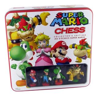 Super Mario Bros Juego Ajedrez Juguete Producto Original