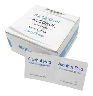 Toallitas Alcohol Isopropílico 70% Para Desinfectar,blunding