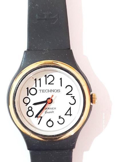 Relógio Tchenos Mariner Quartz Feminino - Anos 80