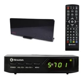 The Best Kit G200 Conversor Gravador Digital+antena Greatek