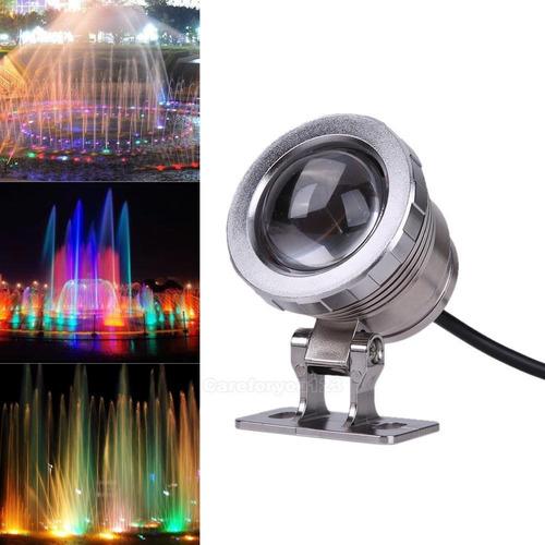 Luces De Colores Lámpara Led Rgb Para Piscina Con Control
