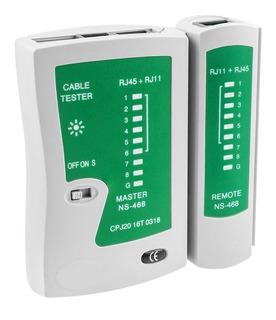 Tester Red Probador De Cables De Red Rj45 Rj11 Rj12 Cat5 Cat