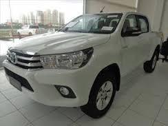 Toyota Hilux P.entga Srv 4x4 0km Branco Aut 18/19 Imperdivel