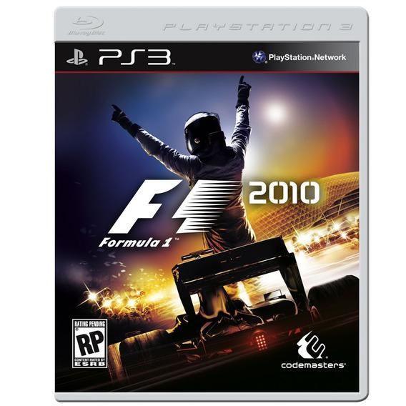 Game Ps3 Formula 1 2010 - Original - Usado - Excelente