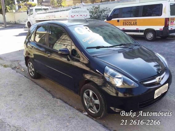 Honda Fit 2008 Lx 1.4 Flex - Aut / Completo