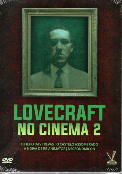 Dvd Lovecraft No Cinema 2 Sem Cards - Versatil Bonellihq L19
