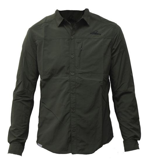Camisa Hombre Terranova M/l Montagne S/rapido Trekking