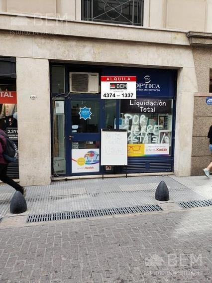 Buen Local Comercial Sobre Peatonal Reconquista