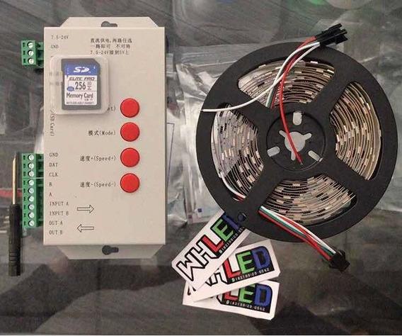 Kit Central De Led T1000s + Led Digital Ws2811 + Prog