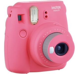 Câmera Instantânea Instax Mini 9 Rosa Flamingo