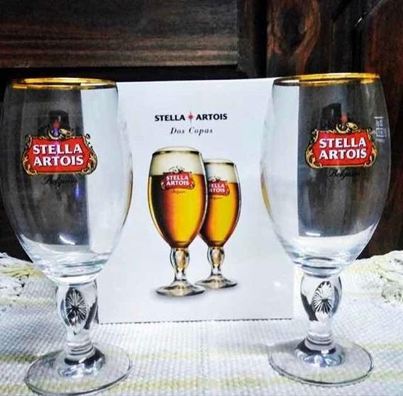 Gift Pack Copa Stella Artois 2unidades De 330cc