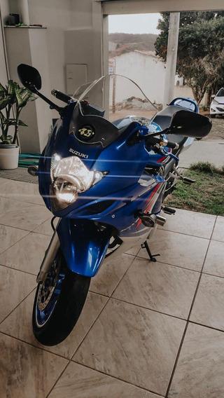 Suzuki Gsx650f Azul