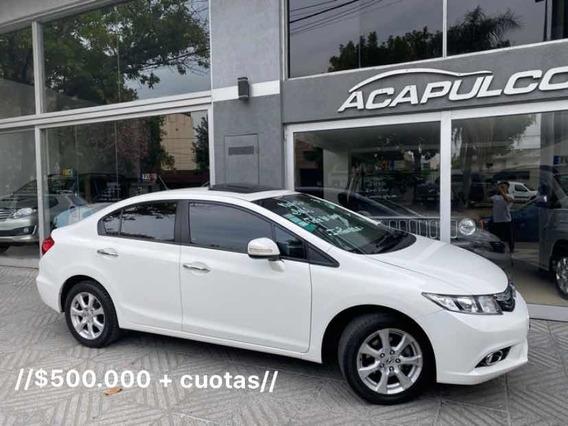 Honda Civic Exs 1.8 //$520.000 + Cuotas//