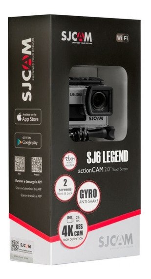 Camera Sjcam Sj6 Legend 4k 16mp 2telas Wi-fi-original