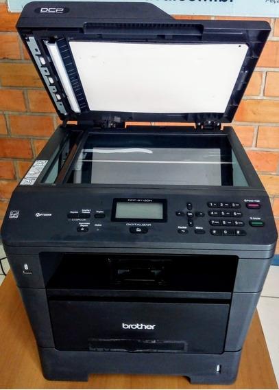 Impressora Brother Multi Dcp-8112dn, Com Fusão Frete Grátis