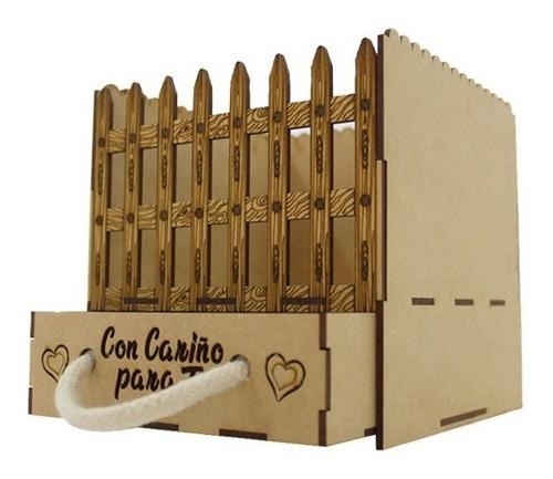 Ancheta Tematica Cerca Con Cajon L - Unidad a $7700