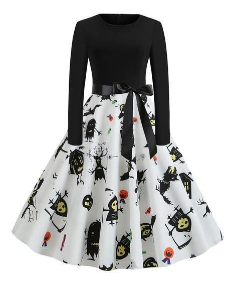 Vestidos Con Calaveras Vestuario Y Calzado En Mercado