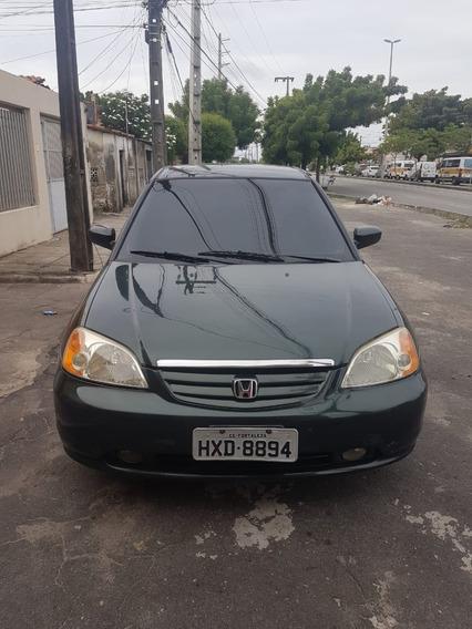 Honda Civic Sedan Lx 1.7 16v 115cv Mec. 4p 1.7 Lx 4p