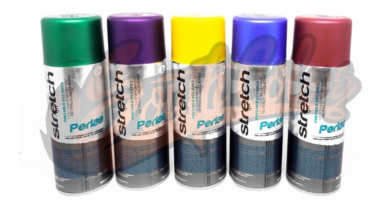 Aerosoles Stretch Pintura Vinilo Colores Perlados Southc