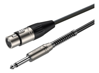 Cable Roxtone Xlr Hembra A Plug 6 Metros Smxj210l6