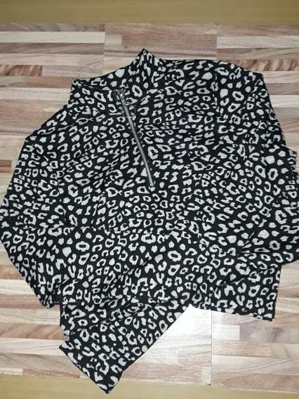 Sweater De Lanilla Animal Print