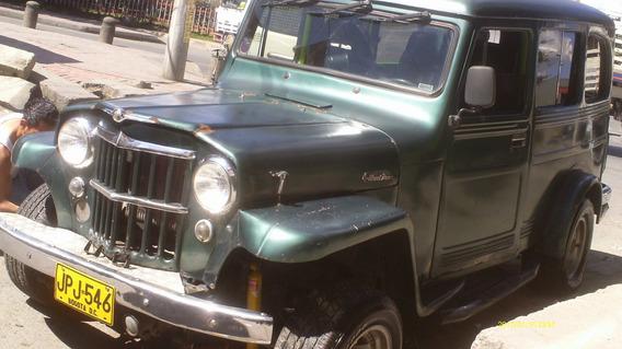 Se Vende Espectacular Campero Jeep Willys