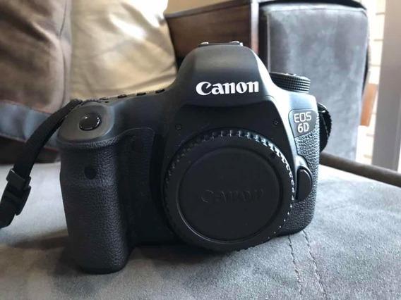 Canon 6d - Muito Nova!!!! Uso Somente Para Fotografia Amador