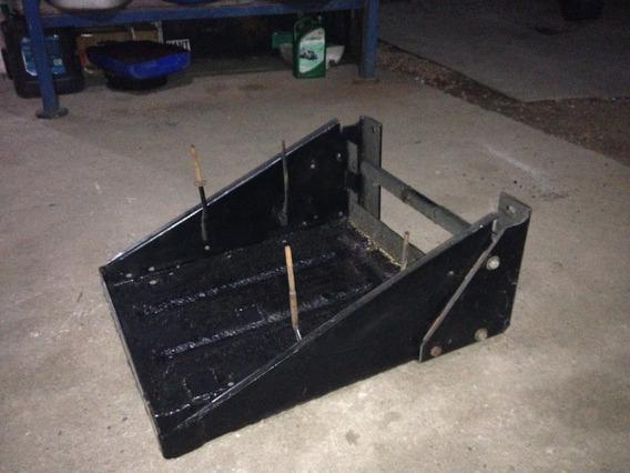 Caixa Suporte Para 2 Baterias Grande Para Caminhão