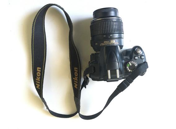 Camara Fotografica Nikon D3000 Incluye Lente Adicional.
