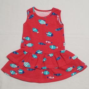 Vestido Infantil Da Hering - Cód. 2613/a