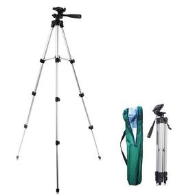 Tripé Universal Fotográfico Profissional Canon Nikon 1,30 Mt