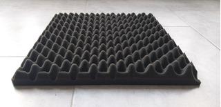 Placa Panel Acustico Conos Basic 500x500x35mm Fonoabsorbente