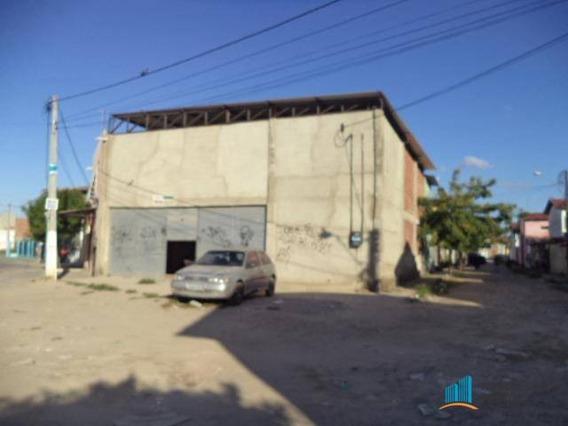 Galpão Comercial Para Locação, Nova Metrópole, Caucaia. - Codigo: Ga0017 - Ga0017
