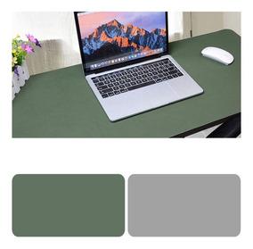 Mesa Dupla Face Mousepad Exercito Verde + Cinza Claro 120x60