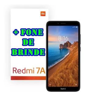 Smartphone Redmi 7a 16gb 2gb Ram Lacrado + Fone De Brinde