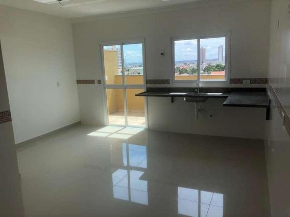Cobertura Com 2 Dormitórios À Venda, 122 M² Por R$ 318.000 - Campestre - Santo André/sp - Co0797