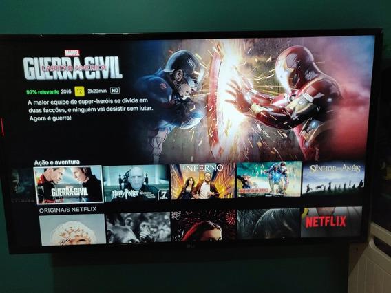 Smart. Tv Lg 4k 43 Semi Nova Netflix Youtube 1300 Reais Vist