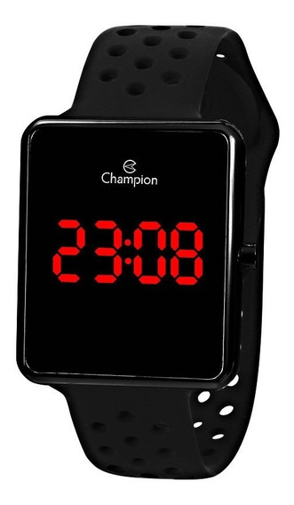 Relógio Champion Feminino Digital Led Ch40081d Original + Nf