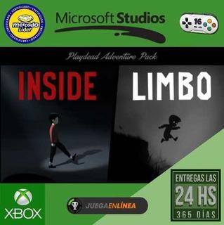 Inside + Limbo Bundle Xbox One Modo Local