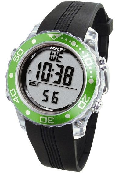 Relógio De Pulso Multifuncional Pyle Psnkw30gn (verde)