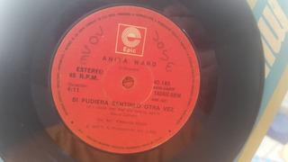 Disco Simple De Vinilo De Anita Ward