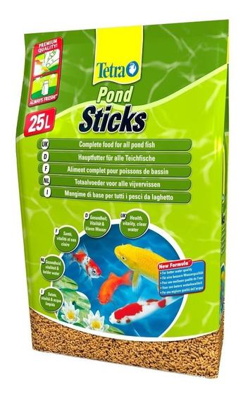 Ração Tetra Pond Sticks 3kg Carpa E Kinguios Lago Promoção!!