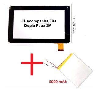 Tela Touch + Bateria 5000 Mah Tablet Tectoy Disney