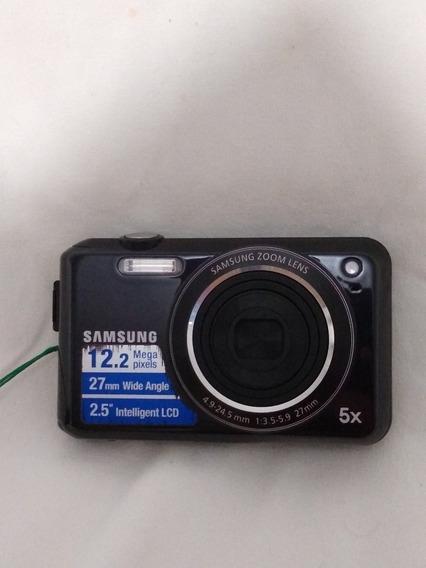 Camera Digital Samsung 12.2 Mega Pixels 5x Preta