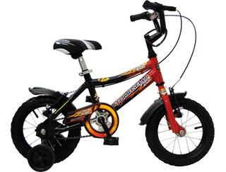 Bicicleta Mountain Bike Niño Rodado 12 Stark Kids - Varon