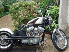 Harley-davidson Fx Standard 2007 Customizada Como Bobber