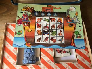 Juego De Mesa Inti Toys Lotería - Bingo Animales Embarcados