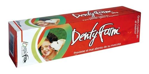 Crema De Dientes Perro + Cepillo Dientes De 30gr Denti Farm
