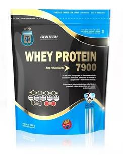Gentech Premium Whey Protein 7900 Afa Suero Proteina 1 Kg