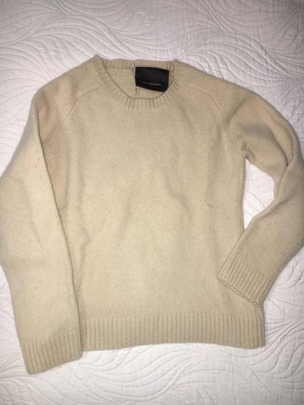 Sweater Niña Akiabara Usado Color Crudo Talle 3